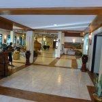 Le hall de l'hôtel Arthawka
