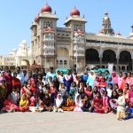 The palace with school trip!