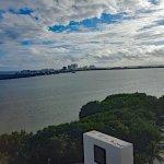 Front of hotel, backside has views of ocean