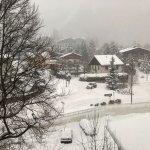 a few from the room during a snow storm - otherwise one would see the mountains.