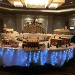 Gingerbread campus display, Auburn Hotel