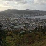 Mount Floyen and the Funicular (Floibanen) Foto