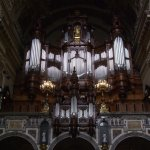 Beautifuil woodwork on the organ.