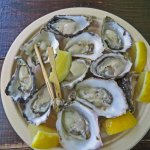 Assorted oysters at the Mercantile Hotel