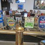 Some of the Mercantile Hotel draft beers