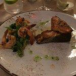 Salmon dish - Taman Sari