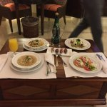 Room Service on our first night
