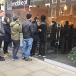 Queue for the best middle eastern food