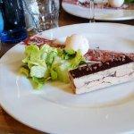 foie gras au chocolat pour un mélange de saveurs inattendu mais délicieux au palais