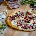 Bacon and Blue Cheese Flatbread!