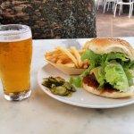 Beachy Beef Burger and Beer