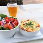 Braised Beef Lasagne with Salad