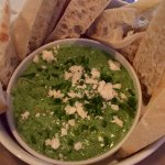 Warm Spinach & Three Cheese Dip