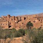 between the desert and Skoura