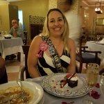 Italian birthday celebration