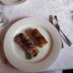 duck & au gratin potatoes