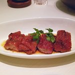 Barbecued Iberian pork with honey