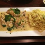 Veal Francese at Pines if Florence in Alexandria, Virginia.