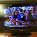 Loved the throwback 1993 TV picture experience.
