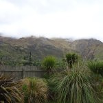 View from Queenstown top 10 campsite.