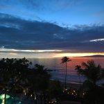 stunning sunset every night off the residential suite lanai