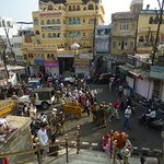 View from the steps of Jagdish Temple
