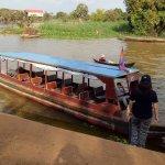 boat ride to Kampong Pluk