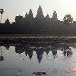 reflection of Angkor Wat