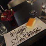 Surprise Birthday Plate