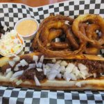 Southern dog w Onion rings