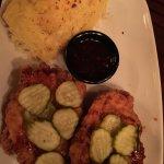 Nashville hot chicken with spaghetti squash