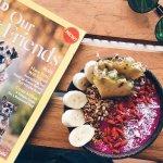 goji berries topping