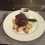 A great US steak and wow!! @ us merlot from us Washington state  Fantastic !,,ll