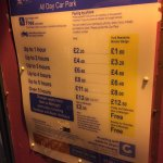 Nunnery Lane car park tariff
