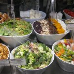 Fresh, in-store made salads.