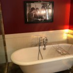 bathroom at the Beatles Suite