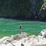 Direkt am Fluss