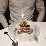 Happy birthday tiramisu