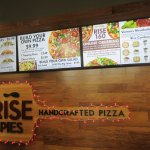 Pizza at Rise Pies