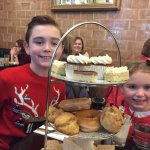 Teenage afternoon tea for two hungry shoppers! Great experience and lovely staff