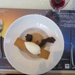 Poire confite au miel de Savoie