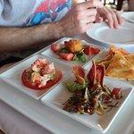 The pupu platter - delicious!!