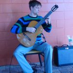 Musician and classical guitar, very talented