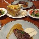3-gangenmenu - Agnus steak met pepersaus