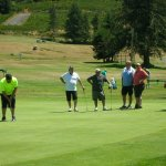 Unlike some courses, we're happy to try and accommodate larger groups playing together.