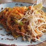 Pad Thai noodles at Krua Thai