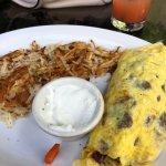shortrib omelet