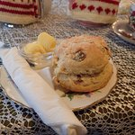 A scone and Butter