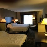 King suite with pull-out couch room 307