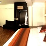 Habitación superior, cama King, wifi,calefacción, batas,pantuflas